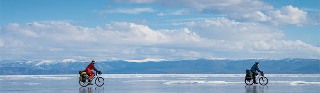 Байк-Байкал велопоход по льду Байкала